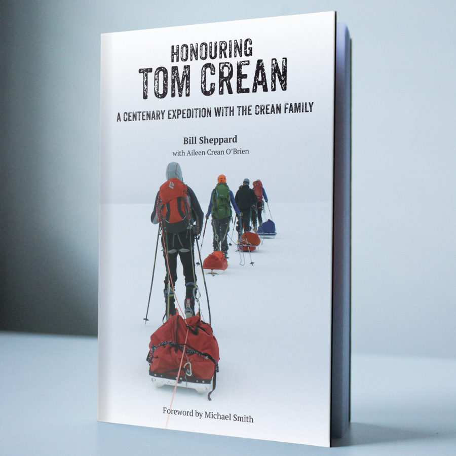 Irish Sunday Times has feature on the Honouring Tom Crean book